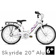 Puky Skyride 20-3 Alu Children's Bike (20 inch) - White Puky
