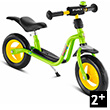 Kids learner bike LRM Plus - Kiwi Green - Learning Bike Puky