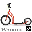 Wzoom Scooter 6+ - NEW RED Yedoo