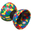 Medium Arlequin Diabolo with handsticks by Mister Babache + string