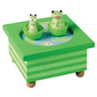 Musical magnetic manege Frog Trousselier