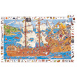 Puzzle 100 pieces Pirates Djeco